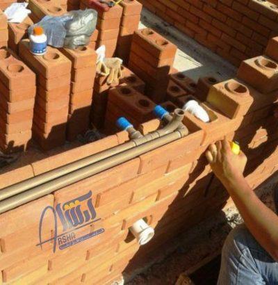 لوله کشی و سیم کشی در ساختمان بدون نیاز به تخریب