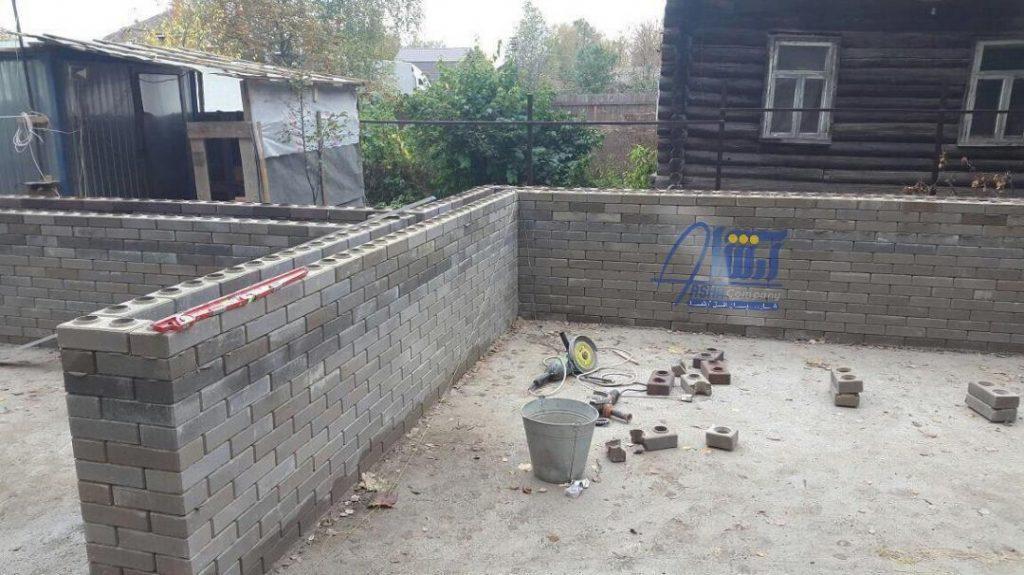 ساخت و ساز و اجرا با استفاده از آجر پازلی ( لگویی )