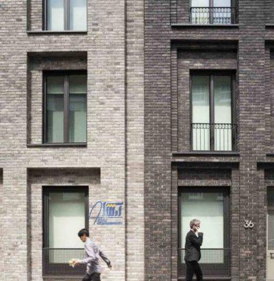 نمونه هایی از استفاده آجر پازلی در ساختمان